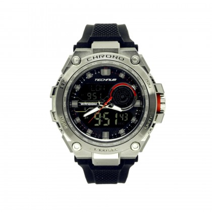TECHNUM Original Watch DGX3.215.BLK Sporty Casual Fashion Dual Display